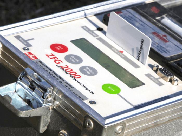 Rejestrator płyty dynamicznej ZORN